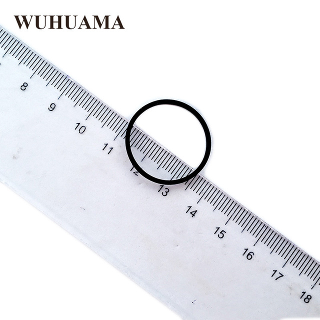 Nouvelle ceinture de conducteur 1.2mm carré 25mm diamètre utilisé dans la plupart des lecteurs DVD ceinture en caoutchouc