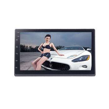 "Android 6.0.1 7"" Multimedia Player 2DIN Touch Screen Auto audio Car Stereo MP5 Bluetooth USB TF FM WIFI Car Radio"