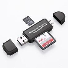 All in One Memory Card Reader MINI USB 2.0 OTG Micro SD/SDXC