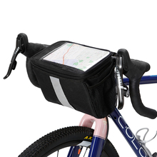 Bicycle Handlebar Insulated Cooler Bag Cycling MTB Mountain Road Bike Front Basket Pannier Bag Bicycle Accessories roswheel hot new 3l bicycle bag water proof mtb bike handlebar front basket pvc pannier pouch cycling holdings accessories