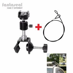 Экшн-камера Fantaseal, Охотничья камера, автомобильное крепление, стойка для автомобиля, зажим, рулон, крепление для автомобиля для GoPro Garmin, VIB, Sjcam...