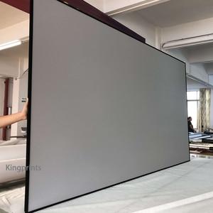 Image 4 - Ortam Işığı Reddetme ALR Ince Çerçeve 84 92 100 inç Projeksiyon Ekranı Için WEMAX Bir Sony Ultra Kısa Mesafeli UST projektörler