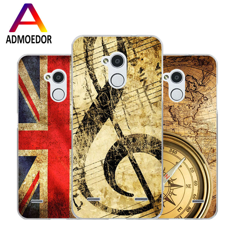 ZTE blade v7 lite Case,Silicon Antique items Painting Soft TPU IMD Back Cover for zte blade v7 lite Transparent Phone Bags