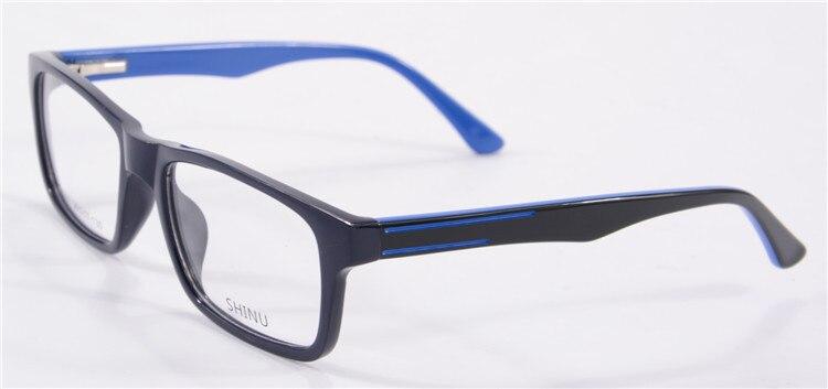 5pcs lot acetate eyeglasses frame women mens brand name designer plastic fashion optical glasses black clear lens sh009 in eyewear frames from mens - Name Brand Eyeglass Frames