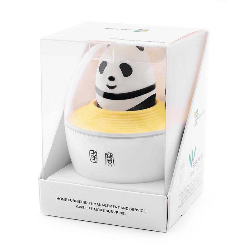 Купить с кэшбэком AIRAJ Multi-function Screwdriver Set Combination Foldable Cross Word Plum Small Screwdriver Creative Cute Panda Gift