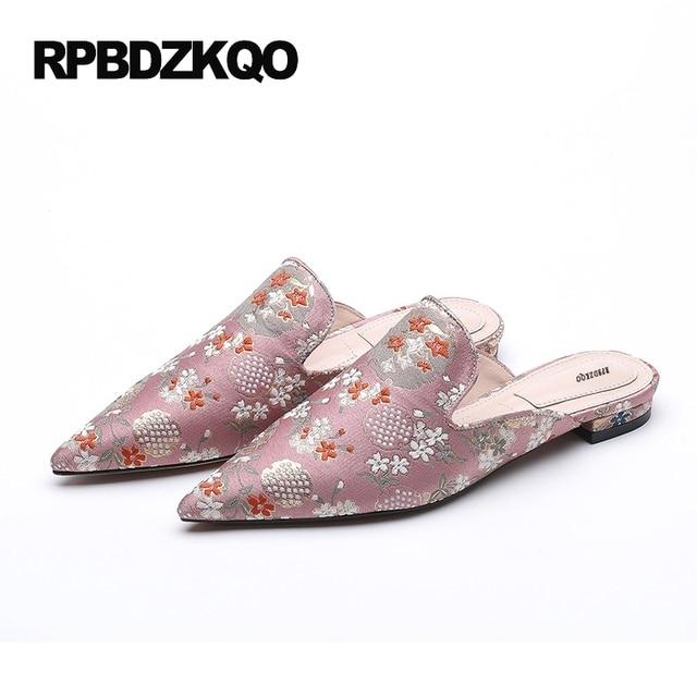Sandales De Mode Avec Des Fleurs Roses Pour Les Femmes Hu1losn6G
