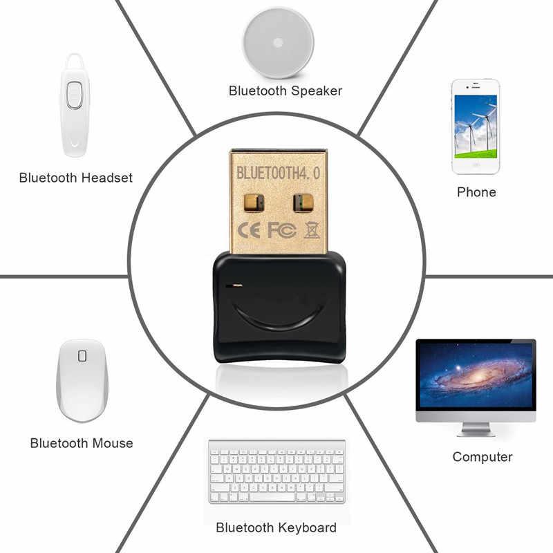 Hongsund bezprzewodowy adapter USB z bluetooth V4.0 wtyczka Bluetooth muzyka dźwięk odbiornik adapter nadajnik do komputera PC Laptop