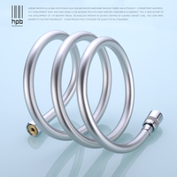 HPB 2.0m 1.5m 1m G1/2 PVC Flexible Plumbing Hoses Tube For Bathroom Shower Set Accessories Hand Hold Shower Pipe HP7110