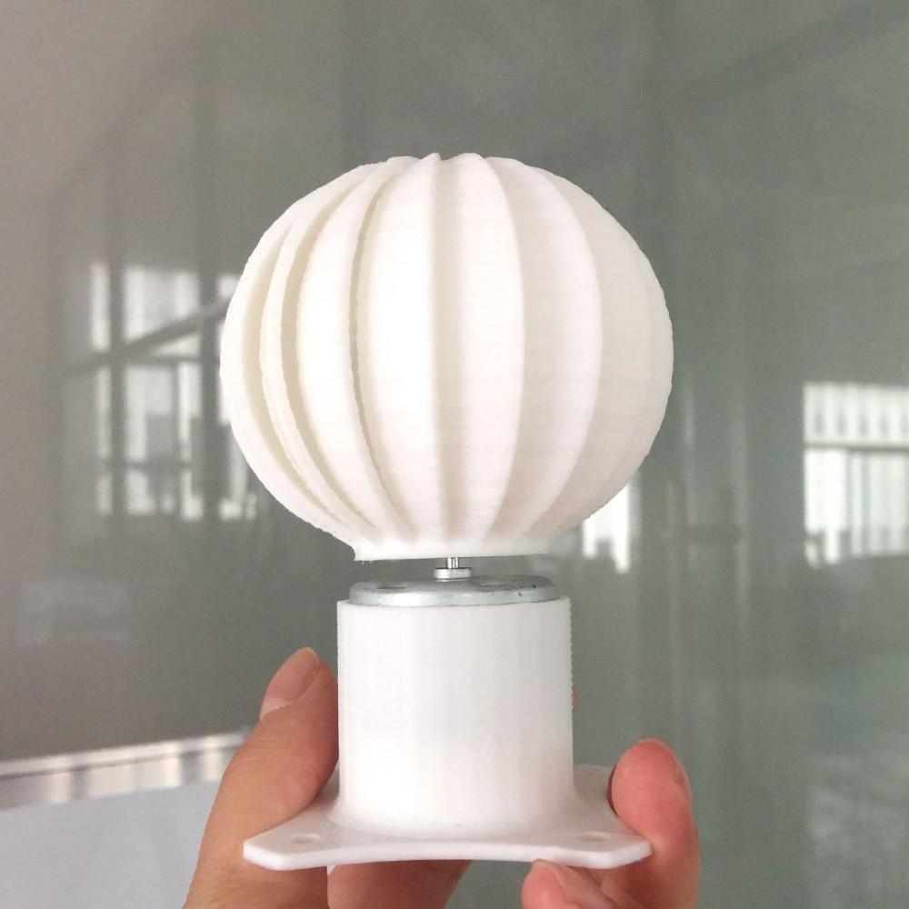 DC Micro moteur petit LED lumières axe Vertical éolienne générateur lames ensemble complet bricolage éolienne moulin rose couleur fun