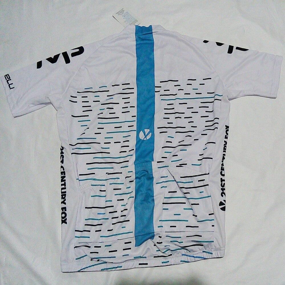 2018 najnowszy Pro drużyny biała jazda na rowerze jersey lato oddychająca MTB pielucha Rowerów Krótki rękaw odzież rowerowa Ropa Ciclismo tylko