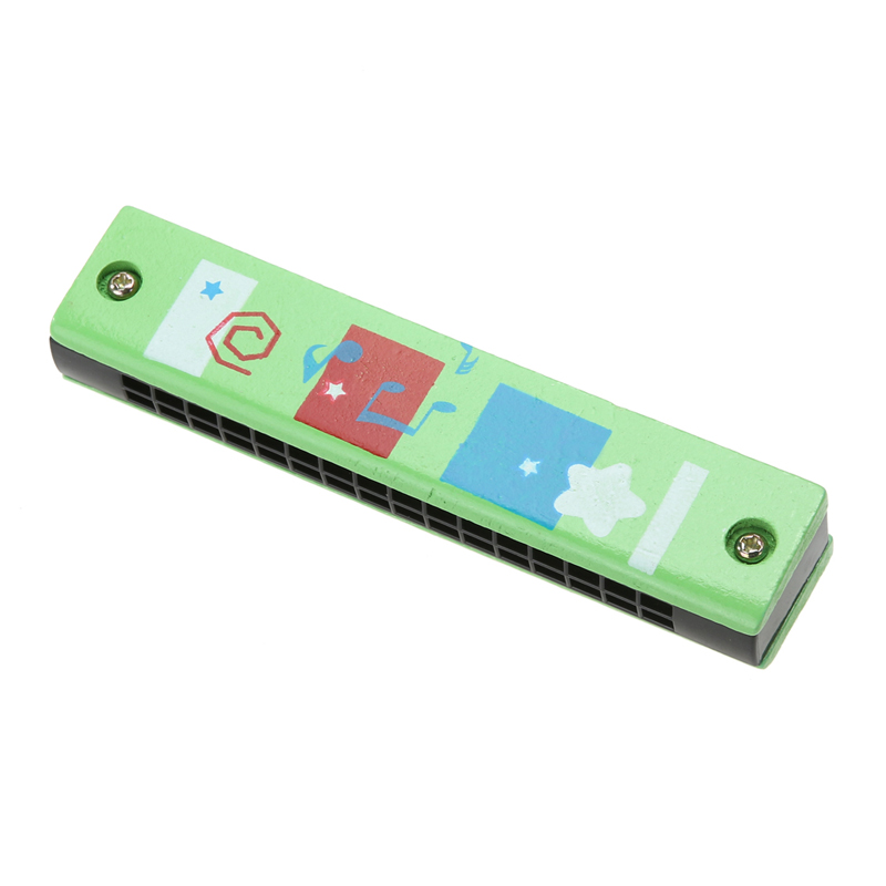 Wood-Plastic-Harmonica-Fun-Double-Row-16-Holes-Musical-Toy-Harmonica-Kids-Early-Educational-Music-Learning-Toy-Random-Color-3