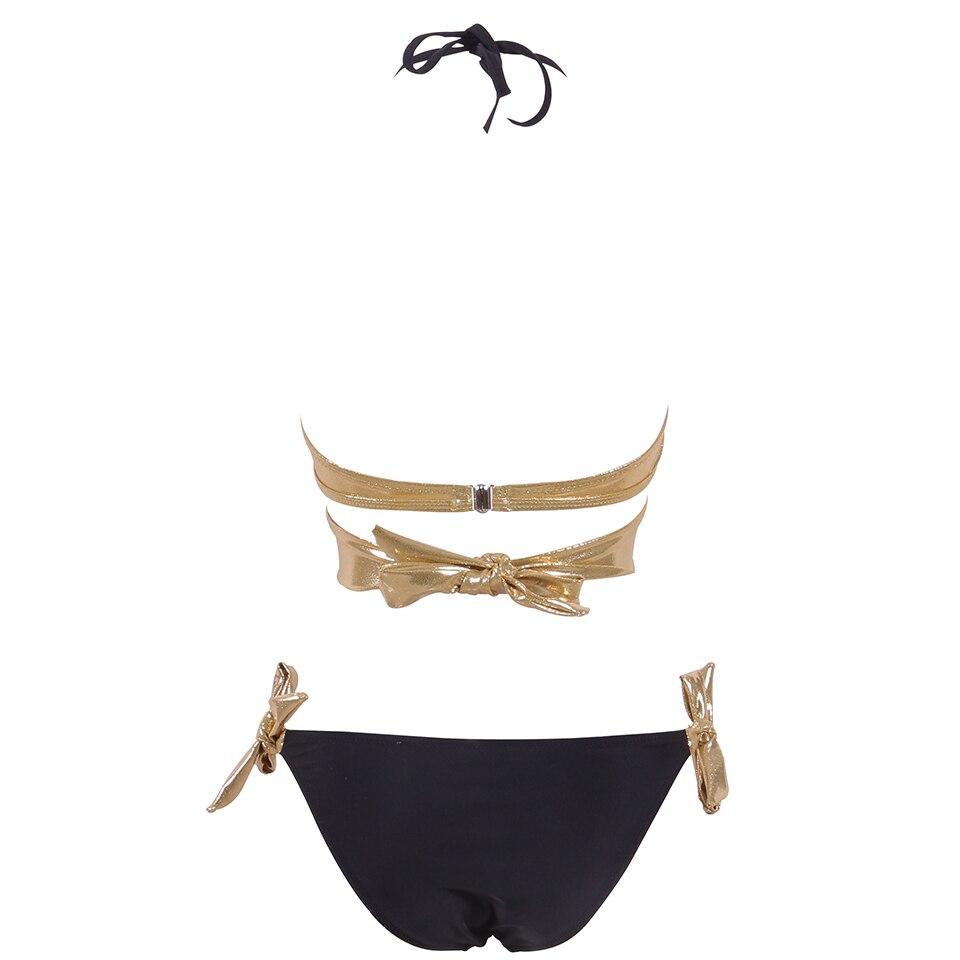 HTB14U.Sav9TBuNjy0Fcq6zeiFXaK NAKIAEOI 2019 Sexy Bikini Women Swimsuit Push Up Swimwear Criss Cross Bandage Halter Bikini Set Beach Bathing Suit Swim Wear XXL