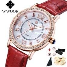 Famous Brand Watches Women Luxury Brand Quartz Ladies Leather Watches Shockproof Waterproof Wristwatch Women Dress Girls Watch все цены