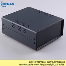 Электрическая распределительная коробка для инструментов, железная коробка для электроники, корпус diy, железный переключатель управления, чехол 170*150*70 мм