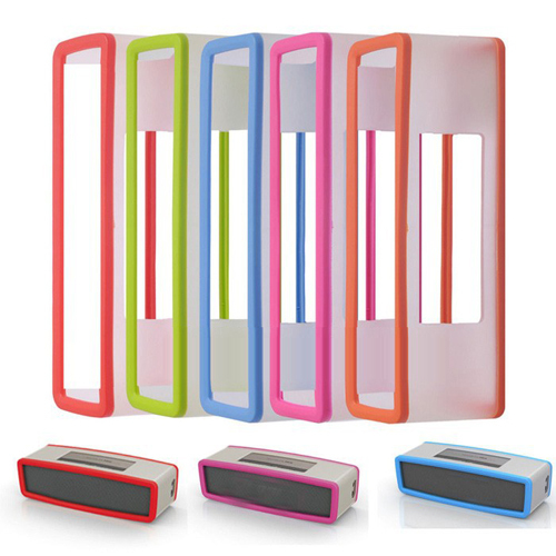Soft Cover Silicone Carry case For Bose Mini SoundLink Bluetooth Speaker Silica gel Protection Travel Bag Speaker box