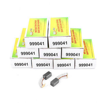 10 Pairs Repair Part Motor Carbon Brush 12 x 7 x 6mm for Hitachi 999041