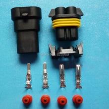 30 компл. 2Pin 9005 2 балласта, Авто головная лампа вилку, автомобиль Водонепроницаемый комплекты Электрический разъем для BMW Audi и т. д.