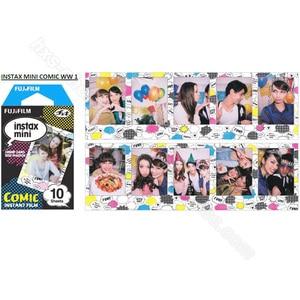 Image 5 - Oryginalne 10 arkuszy komiks Instax Fujifilm papier fotograficzny do Fuji Instant Mnini 9 8 50s 7s 90 25 aparaty akcji SP 1 SP 2 SP 3 drukarki