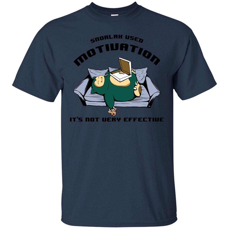 df141d14b Hot Sale 100 % Cotton T Shirt Pop Cotton Man Tee Snorlax used Motivation  Funny Custom
