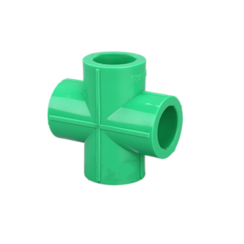 20mm 4 Way Cross Welding PPR Pipe Fitting Water Connector