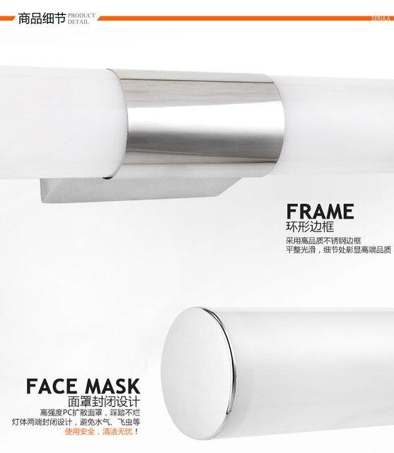 Contemporary Sconces Indoor Bathroom Mirror Lamp Lighting Modern Led Wall Lights Light Bedroom