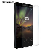 Wangcangli tempered glass For Nokia 6 2018 screen protector 0.2mm ultra-thin mobile phone 9H