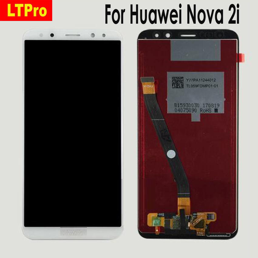 LTPro High Quality Tested LCD Display Touch Screen Digitizer Assembly or with frame For Huawei Nova 2i Nova2i Mobile Phone Parts
