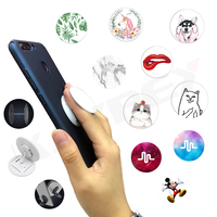 Universal Mobile Phone Holder For iPhone X XR XS Max 8 7 6s Samsung Xiaomi Desktop Stand Phone Mount Finger Ring Holder