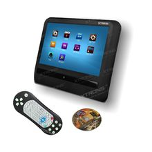 9″ HD Touch Screen Car Headrest DVD Player 800×480 Game/DVD/USB/SD/IR Detachable Panel Portable headrest monitor