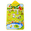 1 Pcs Musical Carpet PVC + Electronic Components Dream Farm Land Play Mat Blanket Plastic Baby Educational Toy
