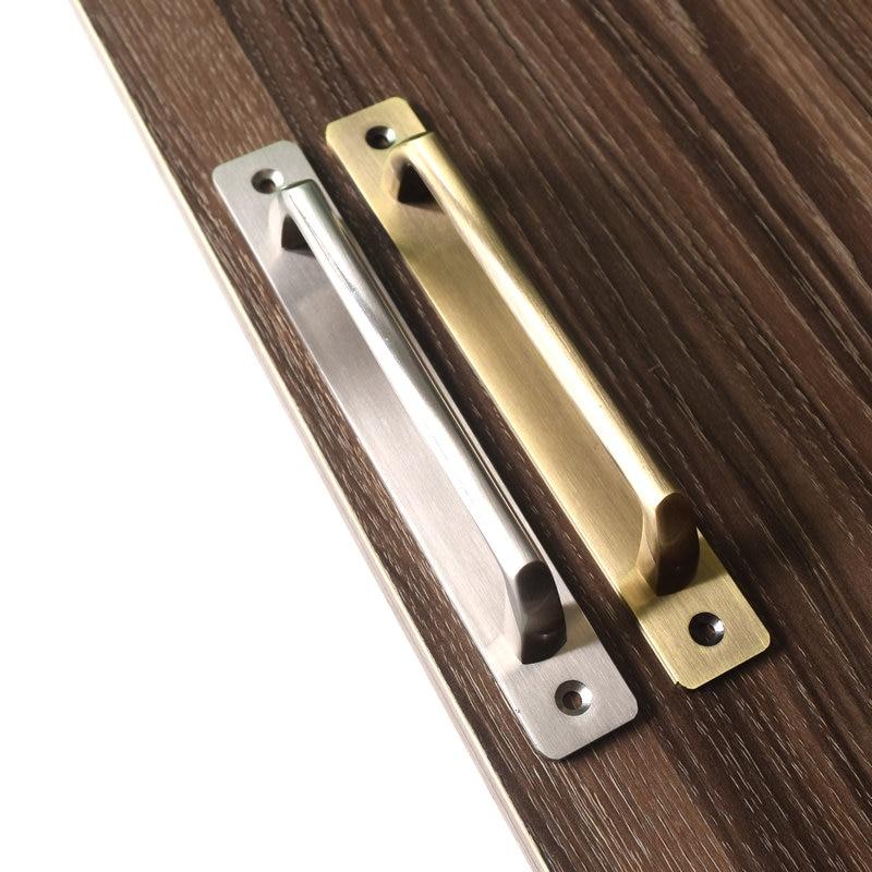 Universal Alloy Bathroom Balcony Doors Handle Wardrobe Cabinet Door Handle furniture handles Hardware accessories shower pull handle glass door handles for bathroom doors pa 614 30 15 415mm