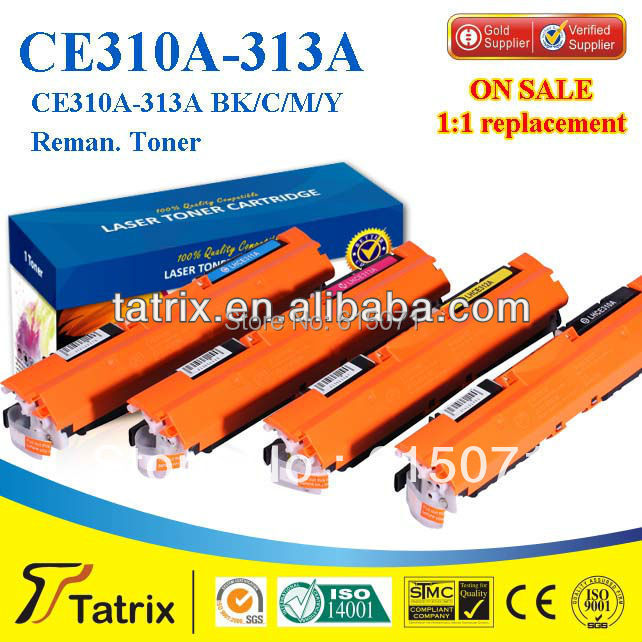 ФОТО 12A CE311A  original toner for HP CLJ pro 100 color MFP M175 Printer Toner Cartridge