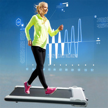 Электрическая беговая дорожка с дистанционным управлением, мини Беговая беговая дорожка для фитнеса A90, ширина 40 см, ремень с/без Bluetooth, динамик
