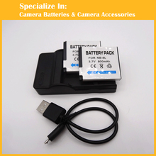 2pcs NB-8L batteries+1pcs charger For Canon A2200 A3200 A3300 A3000 A3100 SD1200 SD1300 SD980 SD3500