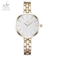 Sk new women stainless steel bracelet wrist watches fashion relojes mujer ladies wrist watches business relogio.jpg 200x200