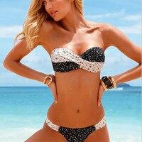 2016 New Low Waist Biquini Set Sports Women Swimsuit Sexy Swimwear Women Fashionable Bikini Push Up