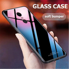 Luxury Tempered Glass Phone Case For Xiaomi Redmi 5 Plus Soft TPU Hard Back cover For Xiomi Redmi 5 Global Version cases coque