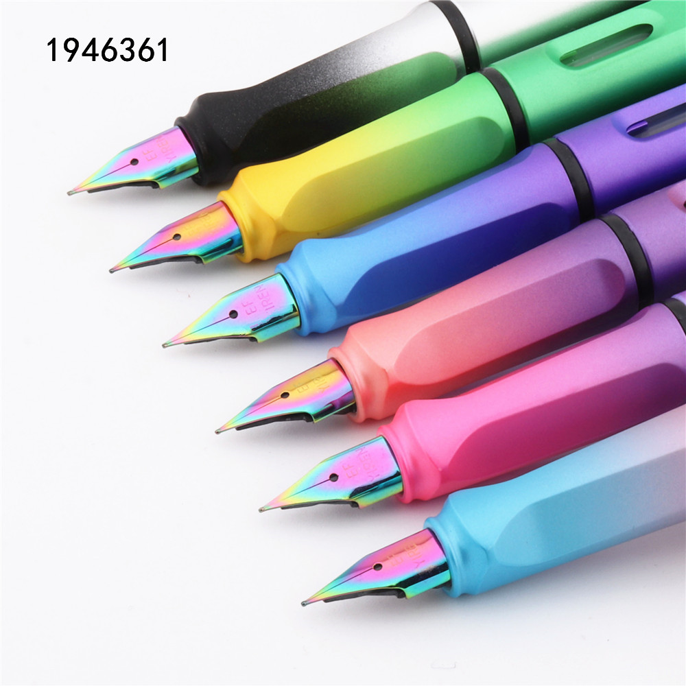 Fountain-Pen Office-Stationery Nib School Student High-Quality Listing New 405 Various-Colors