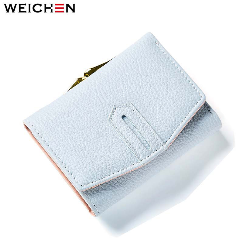 где купить Hasp Short Wallets for Women Fashion Lady Women Leather Small Wallet Girls Clutch Purses With Coin Change Purse Card Holder по лучшей цене