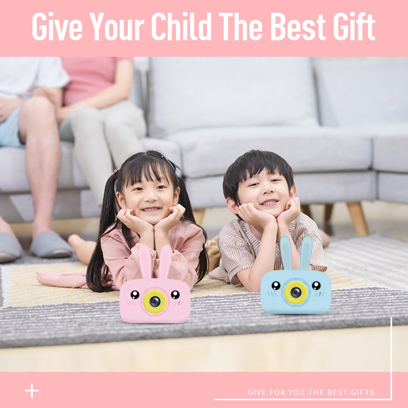 Children baby Camera Kids Educational toys for Children Birthday Gifts dslr Digital Camera 1080P Projection Video Camera image