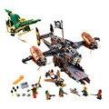 LEPIN Kits Modelo de Infortúnio Manter Ninjagoed Maravilha Ninja Building Block Brinquedos Compatíveis Com Legoe