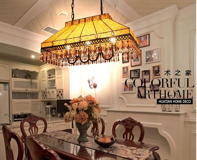 Verlichting Woonkamer Hanglamp : L mm h mm crystal tiffany hanglamp crystal hanglamp lamp voor