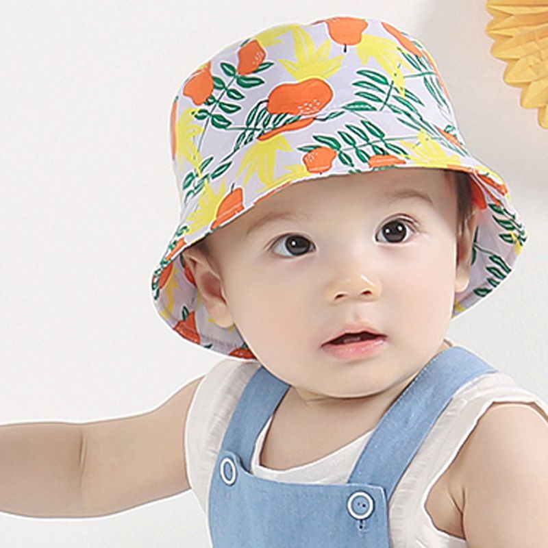 483dea4ec9e Summer Sun Hat Toddler Kids Infant Sun Cotton Cap Autumn Cute