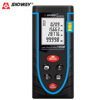 SNDWAY 100 Meters Laser Rangefinder Distance Meter Professional Digital Tape Infrared Ruler Measure Area Volume Range