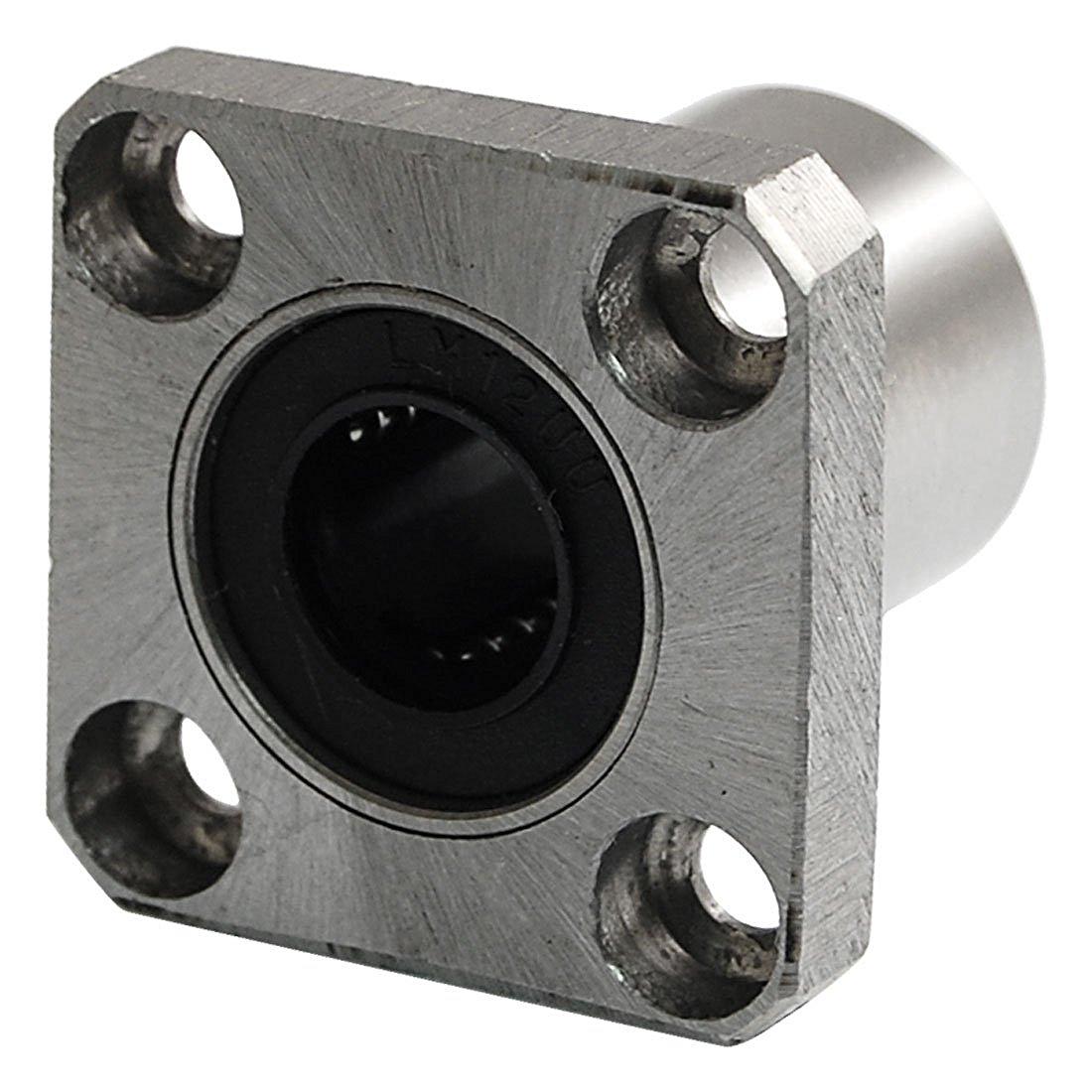 12mm Inner Dia 21mm OD LMK12UU Square Linear Ball Bearing accutex lt103 diamond wire guide inner dia 0 155mm manual upper