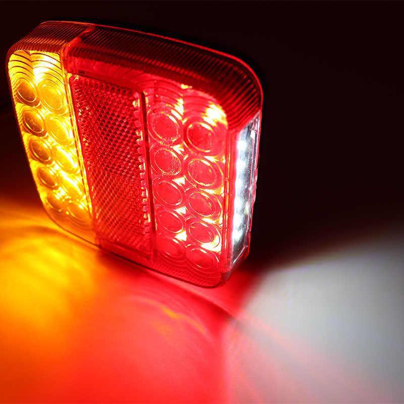 2 шт. 12 в прицеп Грузовик Караван 26LED задний фонарь указатель поворота Стоп-сигнал Лампа номерной знак задний реверс