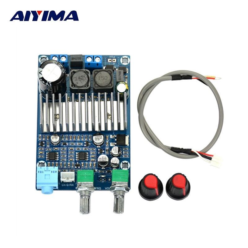 цены на Amplifiers Board 100W DC12-24V TPA3116 Subwoofer Amplifier Board Support Bass Output Updated в интернет-магазинах