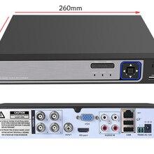 USAFEQLO AHD NVR XVR CVI TVI 4 K безопасность 3g wifi CCTV гибридный видеорегистратор видео регистратор системы наблюдения 4CH 4 K CCTV DVR XMEYE