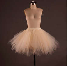 Candy Color Girl Lady Adult Tulle Skirt Mini Ballet Princess Party Tutu Skirts