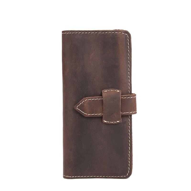 2017 new men wallets card holder business brand long purse money of men long wallet new big brothers money cigarette card case box holder